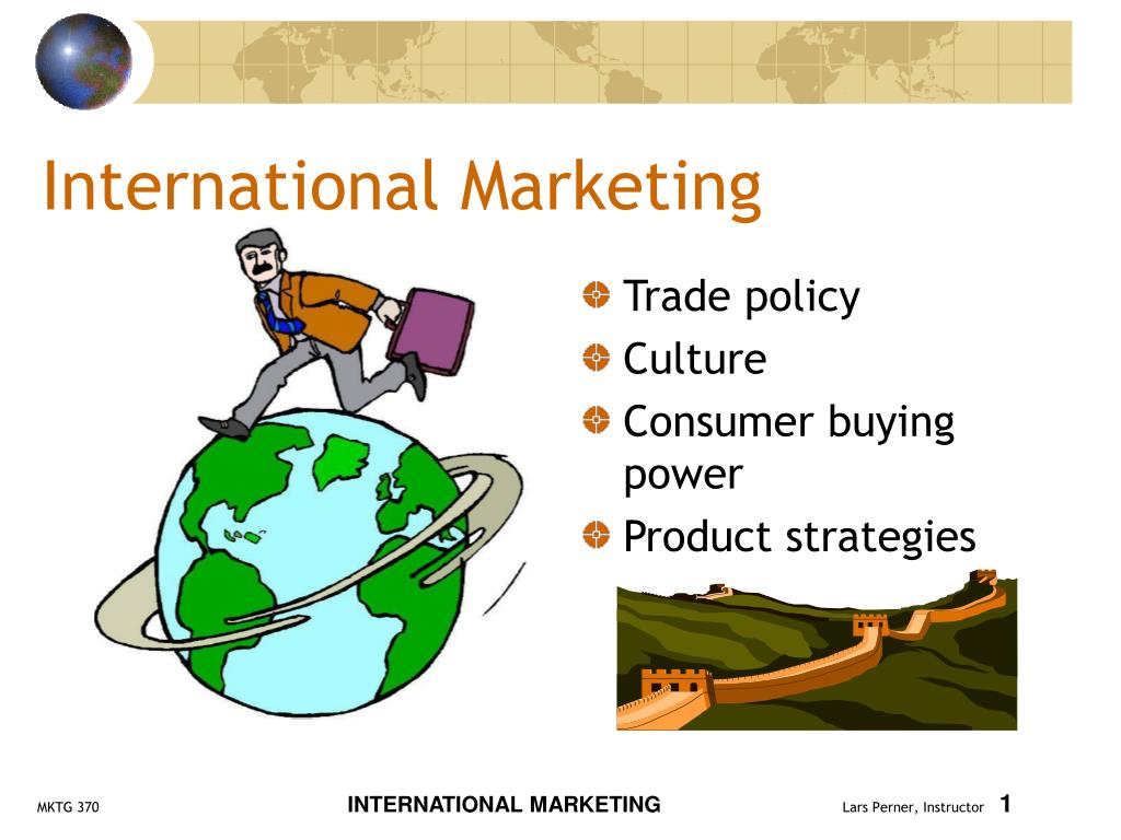 international marketing l.