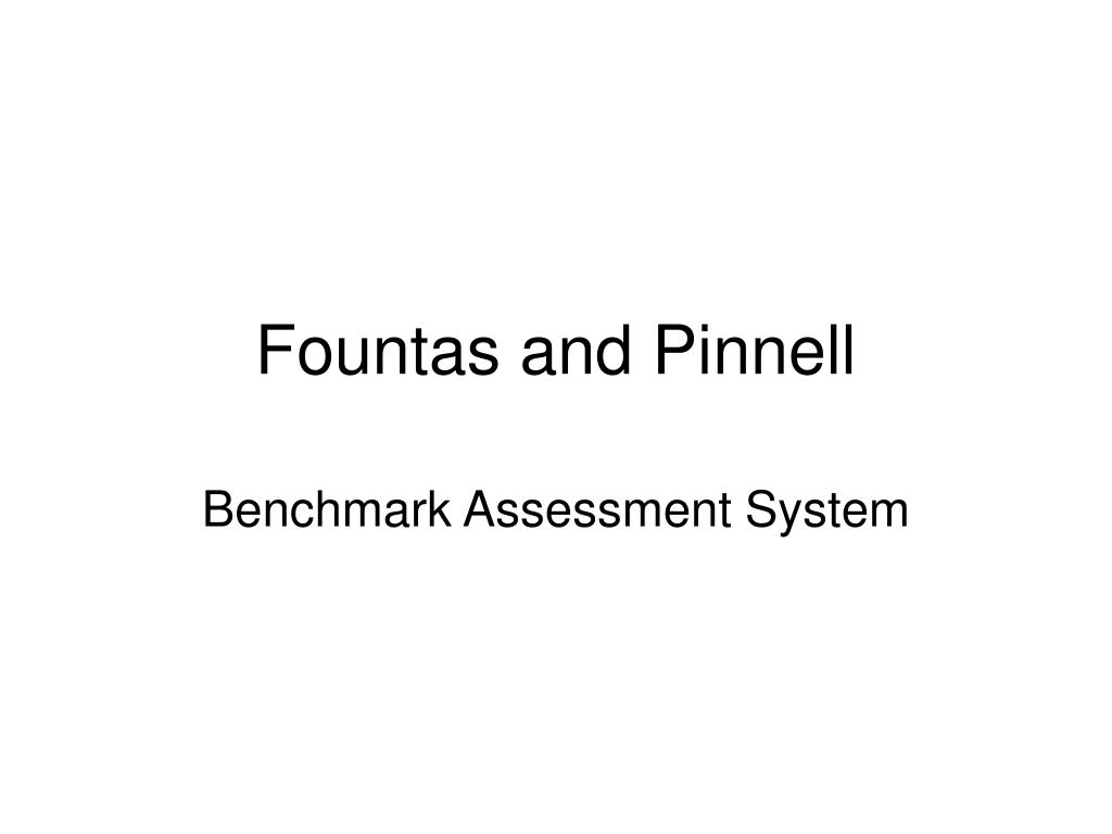 fountas and pinnell l.