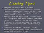 coaching tips 2