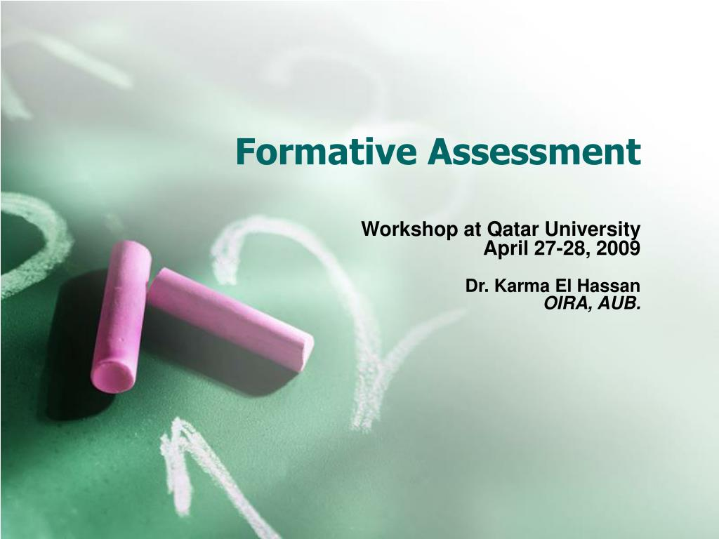 formative assessment l.