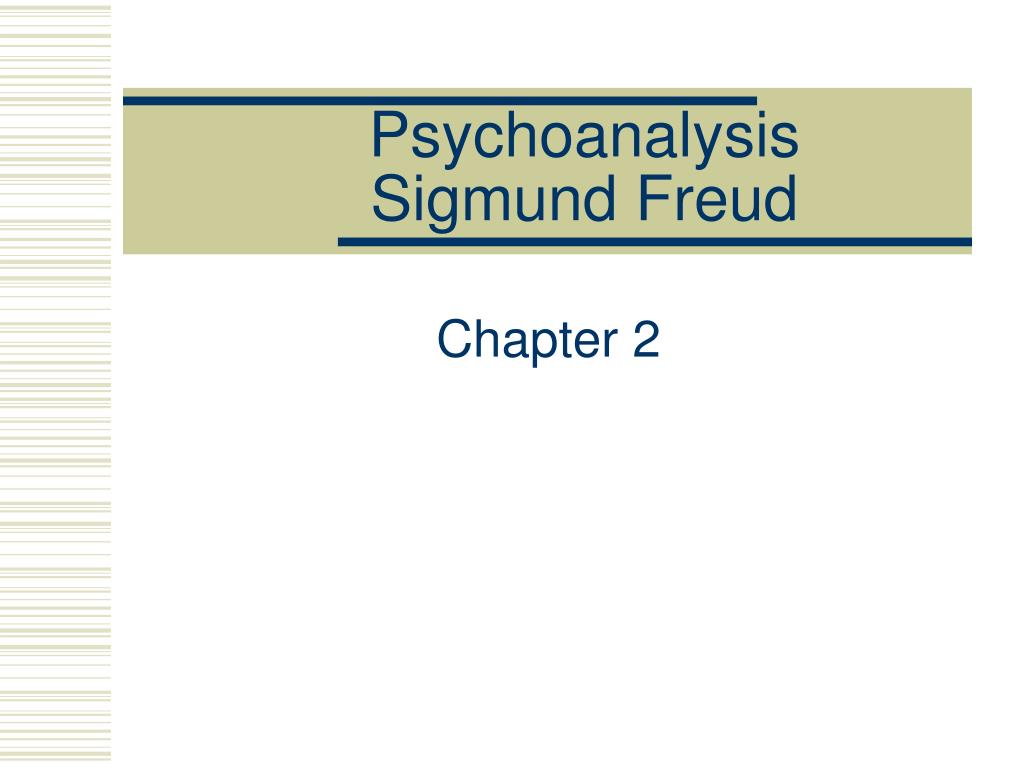 sigmund freud's psychodynamic approach as an Sigmund freud 's psychoanalytic  and ultimately to a fully mature personality freud's ideas  psychodynamic: relating to the approach to psychology that.