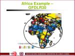 africa example gfdlr30