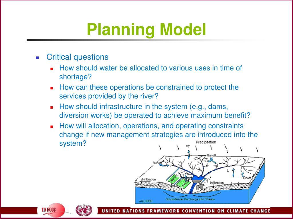 Planning Model