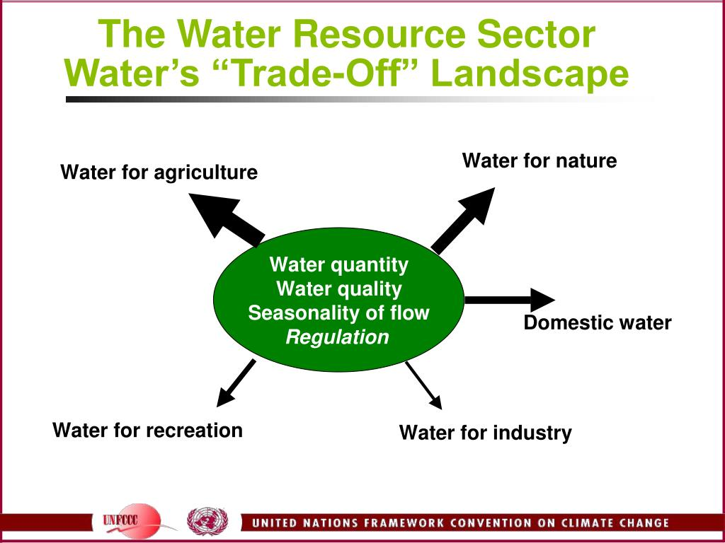 The Water Resource Sector