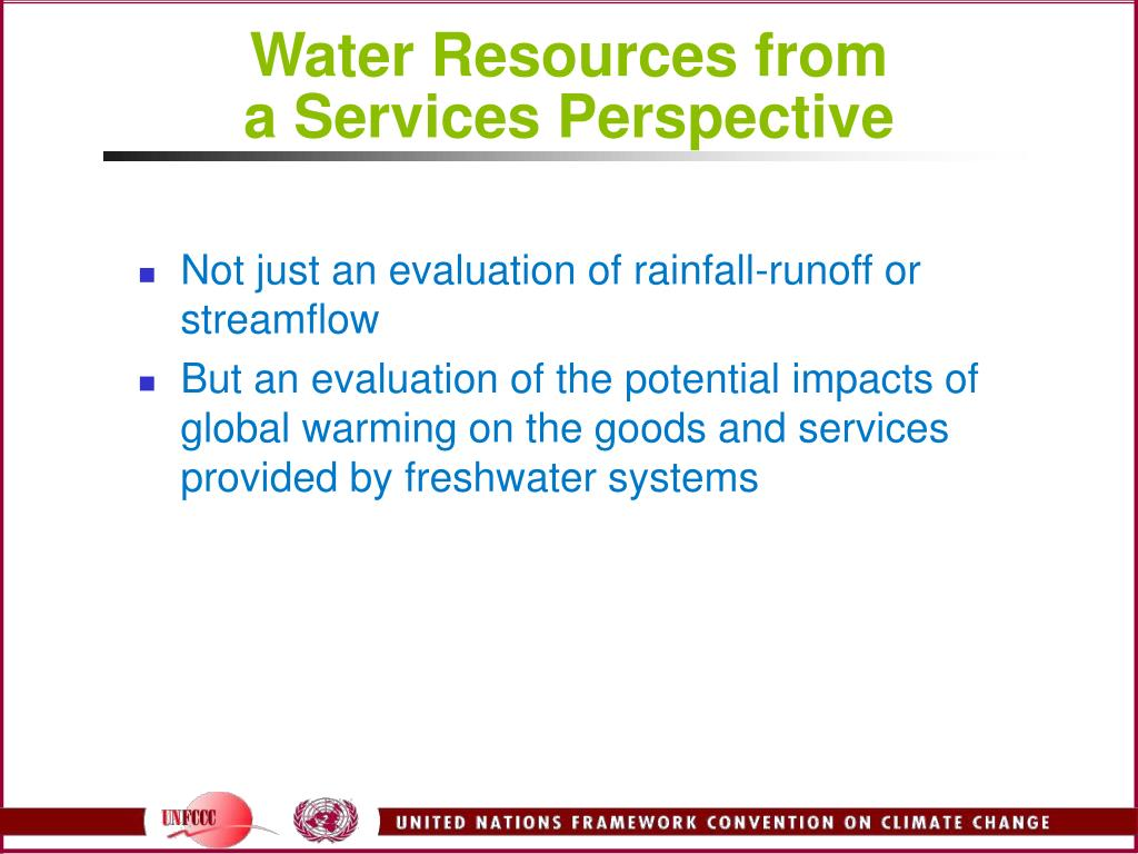 Water Resources from