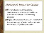 marketing s impact on culture