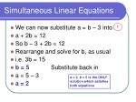 simultaneous linear equations12