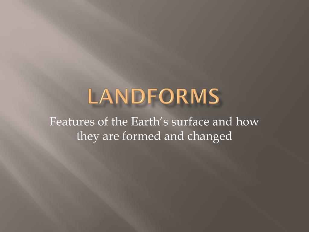 landforms l.
