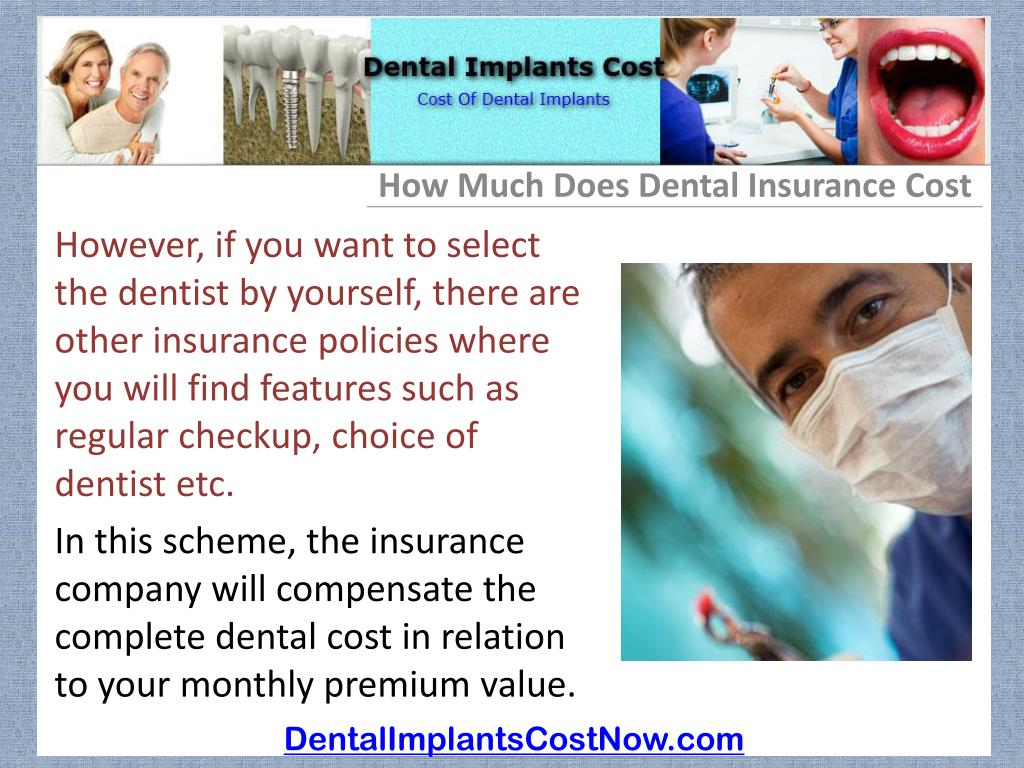 How Much Does Dental Insurance Cost