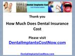 how much does dental insurance cost14