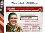 where to look usajobs gov