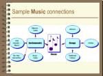 sample music connections