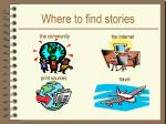 where to find stories