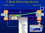 3 betty delivering service