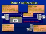 demo configuration