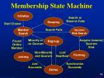 membership state machine