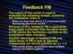 feedback fm12
