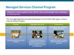 managed services channel program