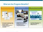 what are the program benefits