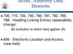 marc authority data elements7