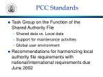 pcc standards