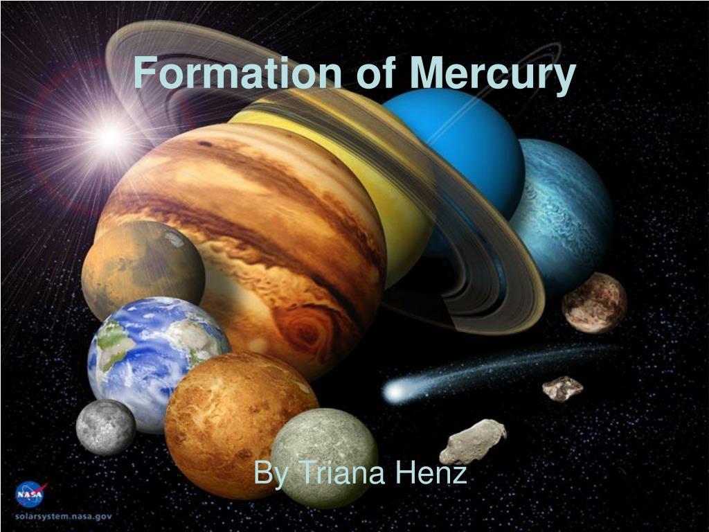 formation of mercury l.