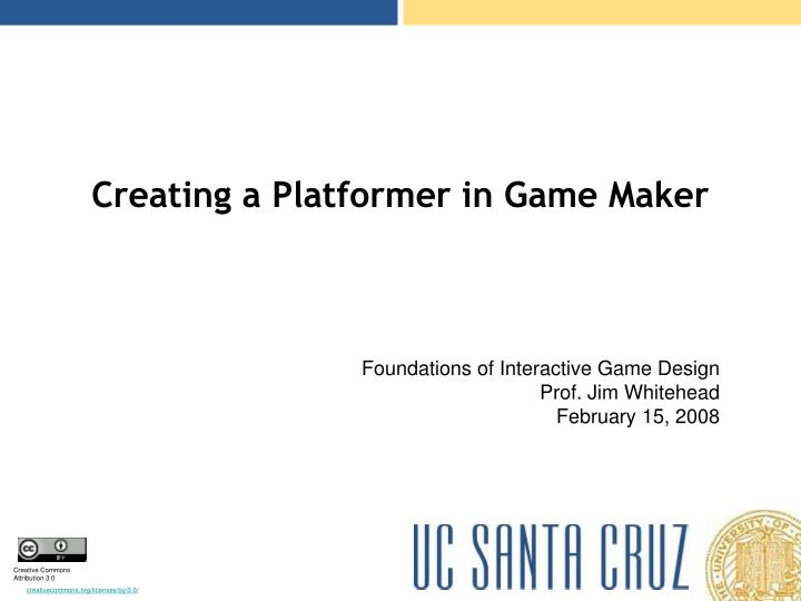 creating a platformer in game maker n.