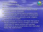 potential benefits igc management area