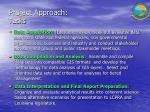 project approach tasks