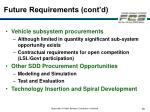 future requirements cont d29