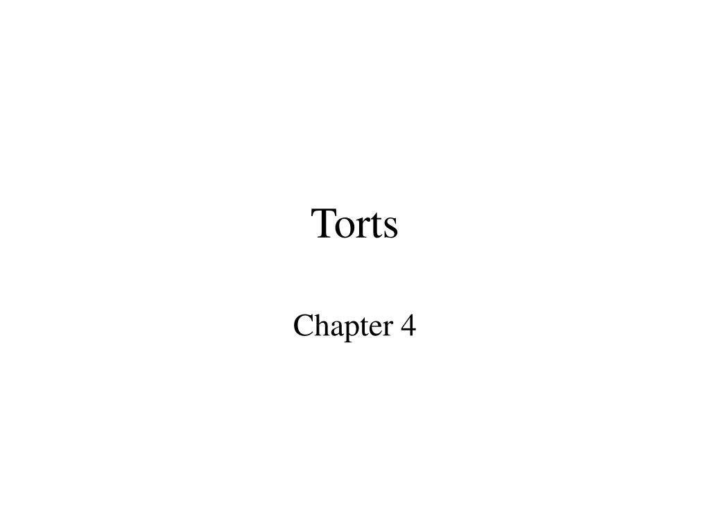 torts l.