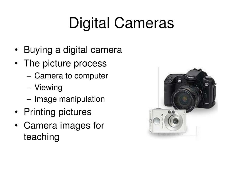 digital cameras l.