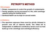 petroff s method