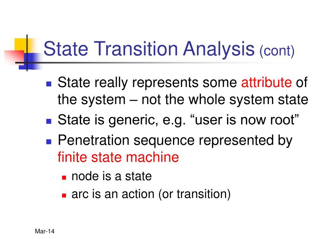 State Transition Analysis