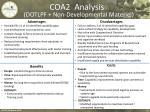 coa2 analysis dotlpf non developmental materiel