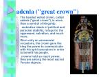 adenla great crown