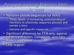 perspective taking robinson 2000 in press