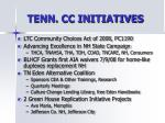 tenn cc initiatives