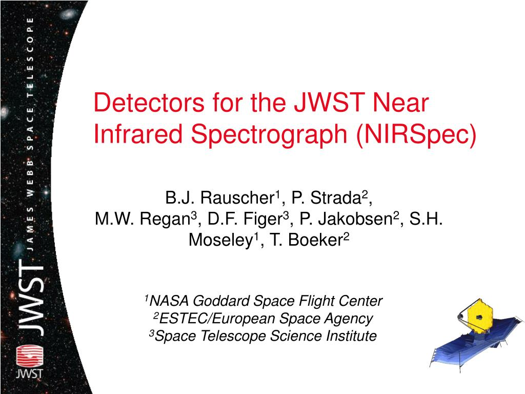 detectors for the jwst near infrared spectrograph nirspec l.