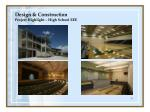 design construction project highlight high school eee18