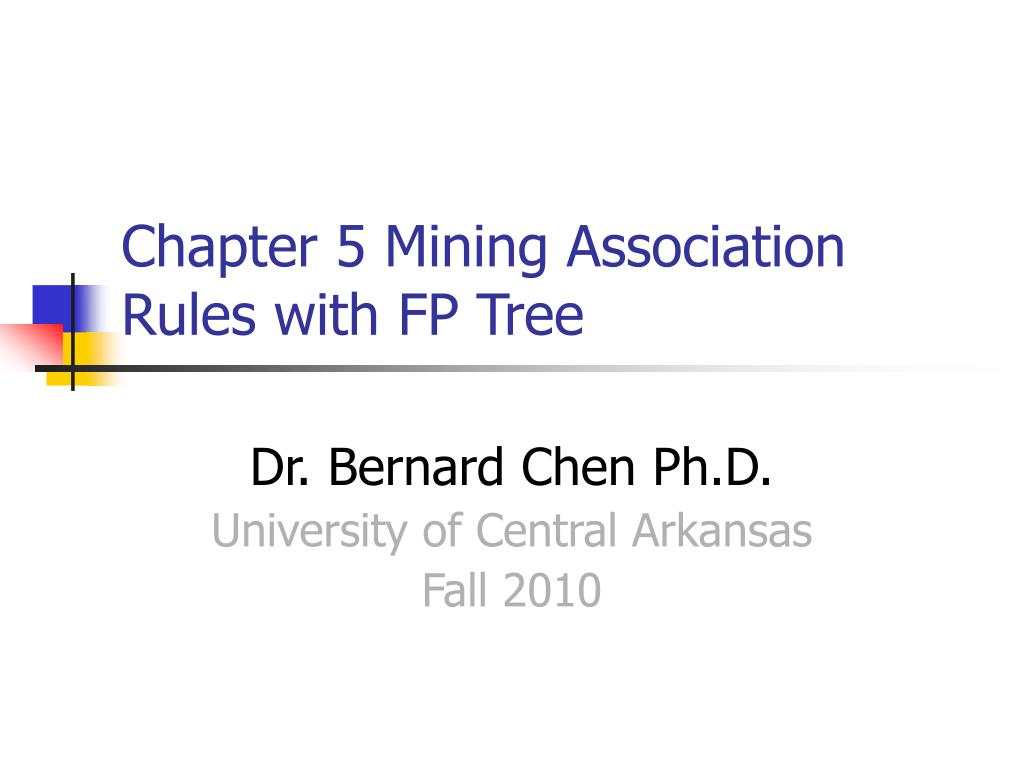 chapter 5 mining association rules with fp tree l.