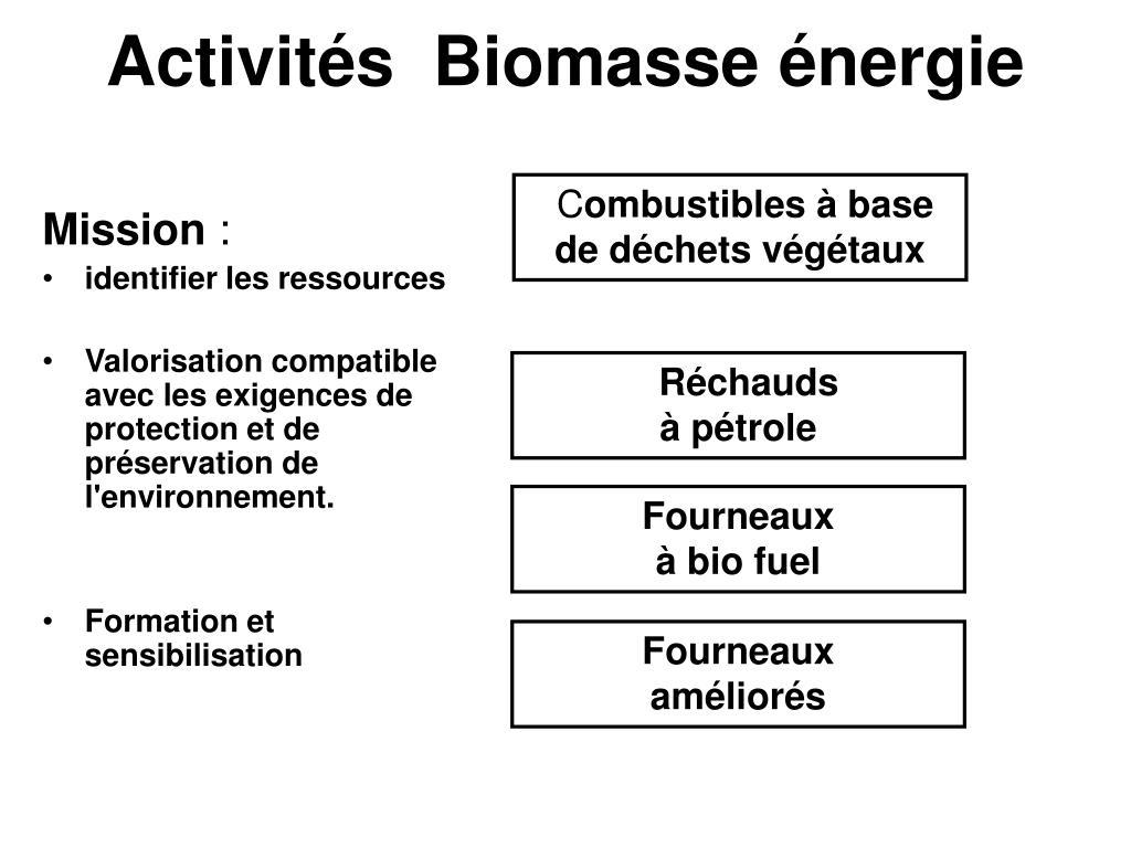 activit s biomasse nergie l.