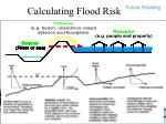 calculating flood risk