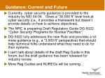 guidance current and future