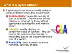 what is a cyber attack