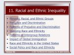 11 racial and ethnic inequality