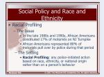 social policy and race and ethnicity