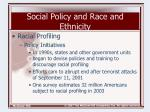 social policy and race and ethnicity38