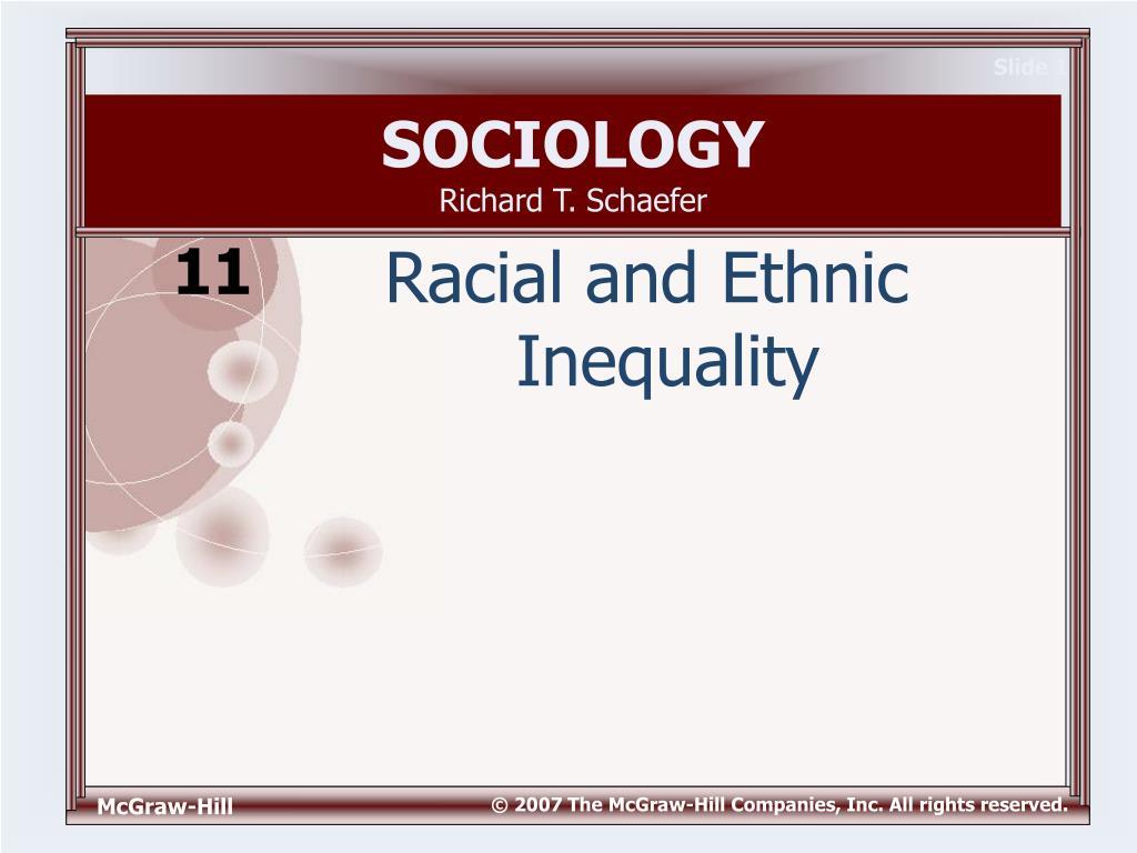sociology richard t schaefer l.