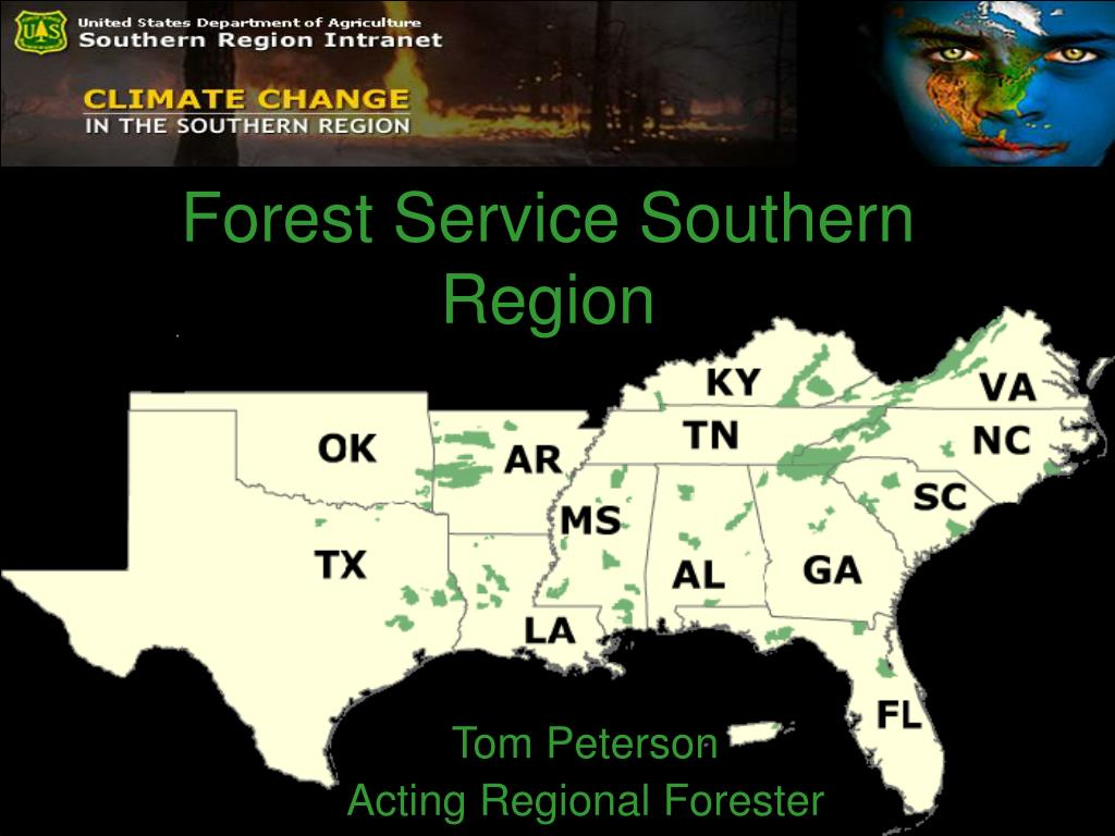 forest service southern region l.